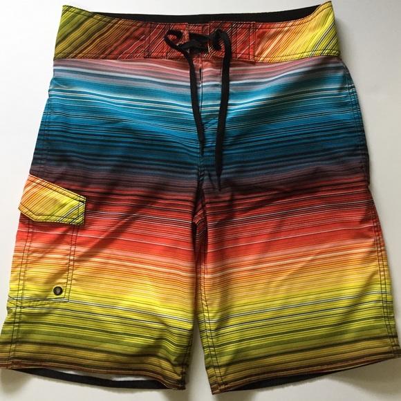 927f6f1558560 Mossimo Supply Co. Striped Board Shorts Swimwear. M_5aeb9ed0a44dbe0ec4279da9